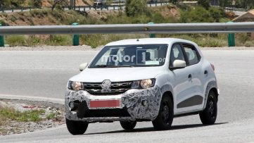 Renault Kwid Facelift Spotted Testing 2