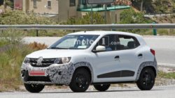 Renault Kwid Facelift Spotted Testing 5