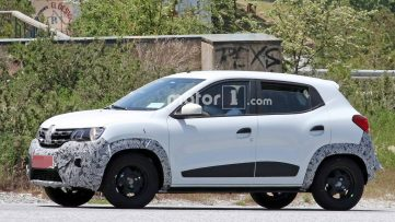 Renault Kwid Facelift Spotted Testing 4