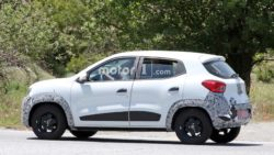 Renault Kwid Facelift Spotted Testing 7