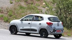 Renault Kwid Facelift Spotted Testing 8
