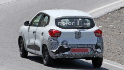 Renault Kwid Facelift Spotted Testing 9