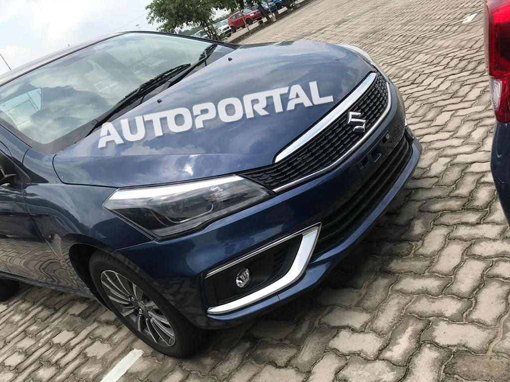 2018 Suzuki Ciaz Facelift All Set to Launch in India 5