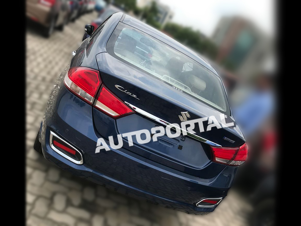 2018 Suzuki Ciaz Facelift All Set to Launch in India 3