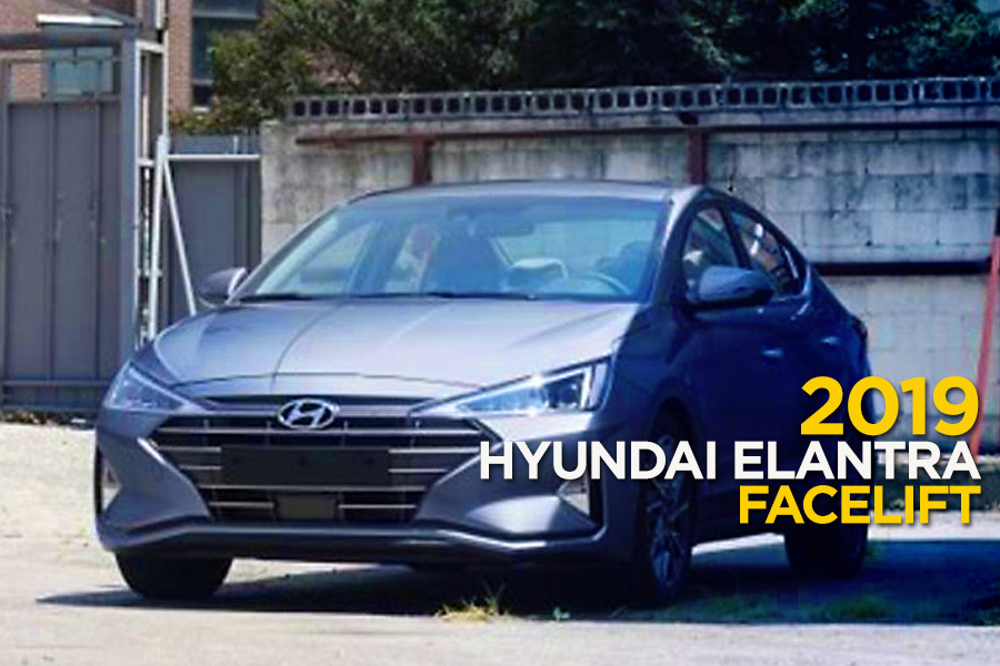 2019 Hyundai Elantra Facelift Spotted Undisguised 1