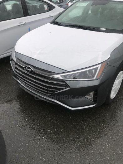 Spotted: Hyundai Elantra Facelift 1