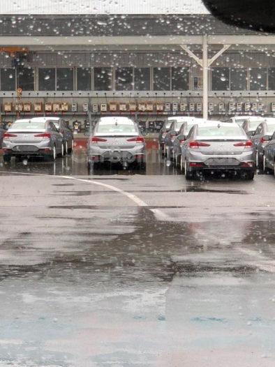 Spotted: Hyundai Elantra Facelift 3