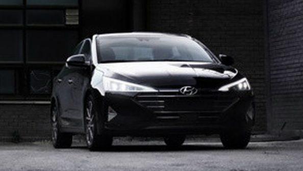 2019 Hyundai Elantra Facelift Spotted Undisguised 1
