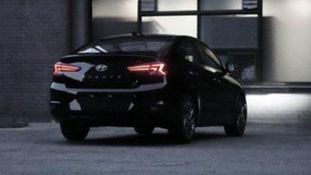 2019 Hyundai Elantra Facelift Spotted Undisguised 7