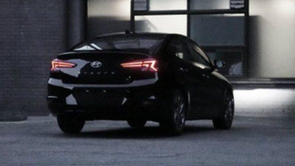2019 Hyundai Elantra Facelift Spotted Undisguised 2
