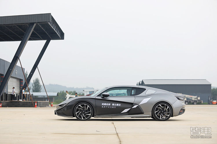 Qiantu K50 Electric Supercar from China to Launch in August 25