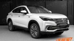 The Changan CS85 Coupe SUV 4
