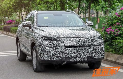 The Changan CS85 Coupe SUV 5