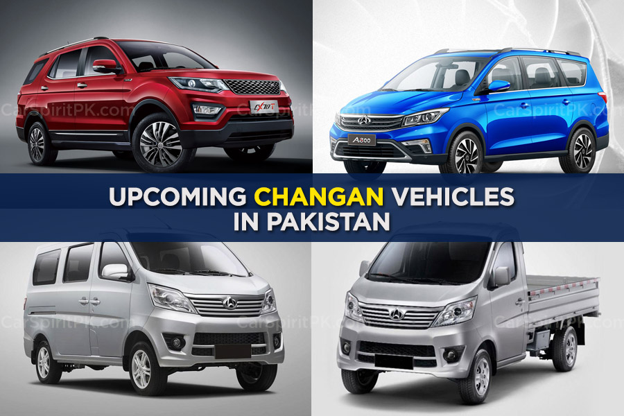 Upcoming Changan Vehicles in Pakistan 1