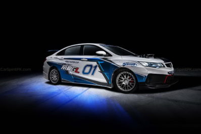 Geely Shows the Emgrand GL Race Car for the Super Cup 5
