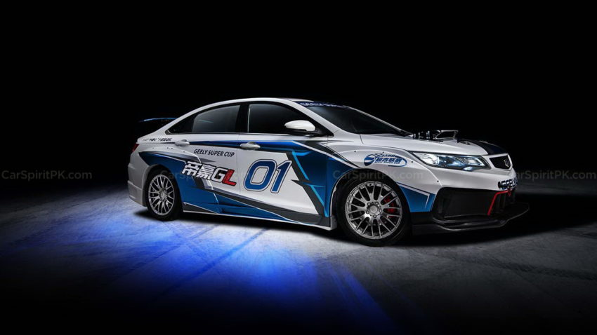 Geely Shows the Emgrand GL Race Car for the Super Cup 1