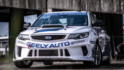 Geely Shows the Emgrand GL Race Car for the Super Cup 19