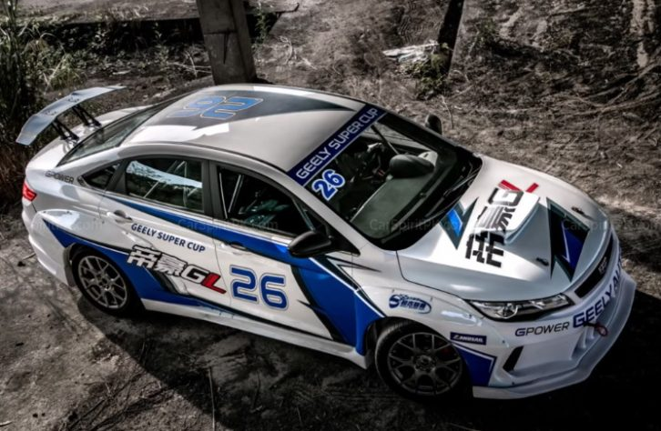 Geely Shows the Emgrand GL Race Car for the Super Cup 16