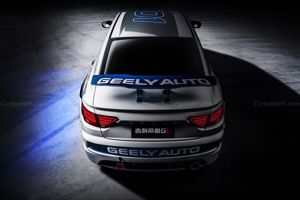Geely Shows the Emgrand GL Race Car for the Super Cup 3