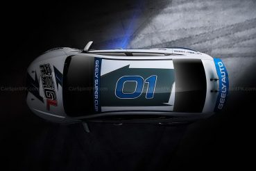 Geely Shows the Emgrand GL Race Car for the Super Cup 12