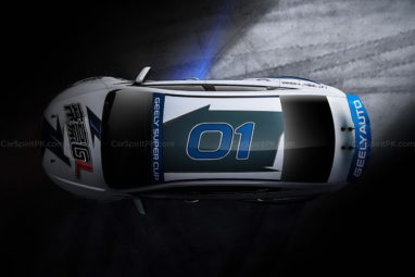 Geely Shows the Emgrand GL Race Car for the Super Cup 11