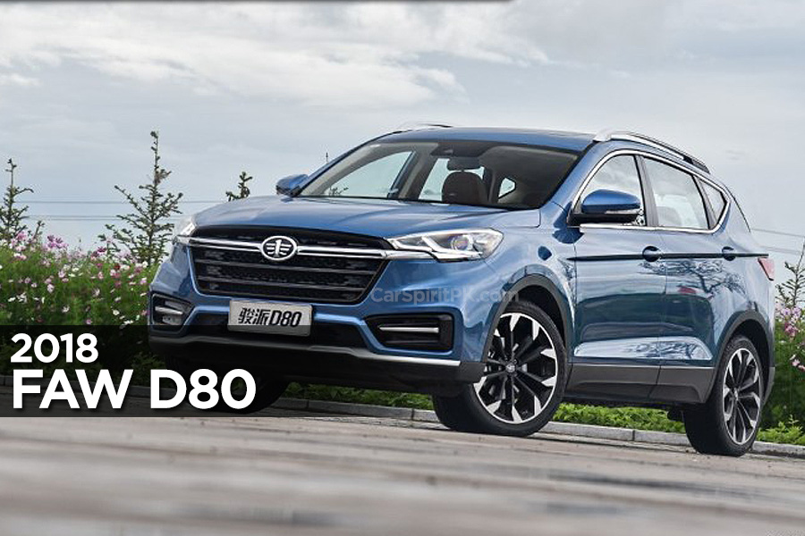 FAW All Set to Launch Jumpal D80 SUV in China 1