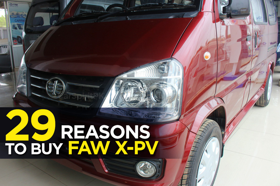 29 Reasons to Buy FAW X-PV 1