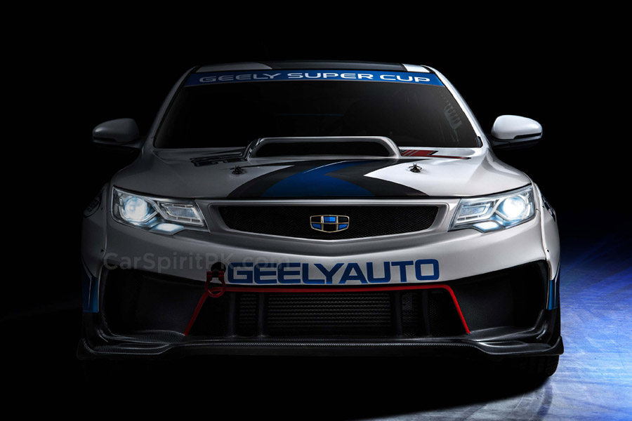 Geely Shows the Emgrand GL Race Car for the Super Cup 2