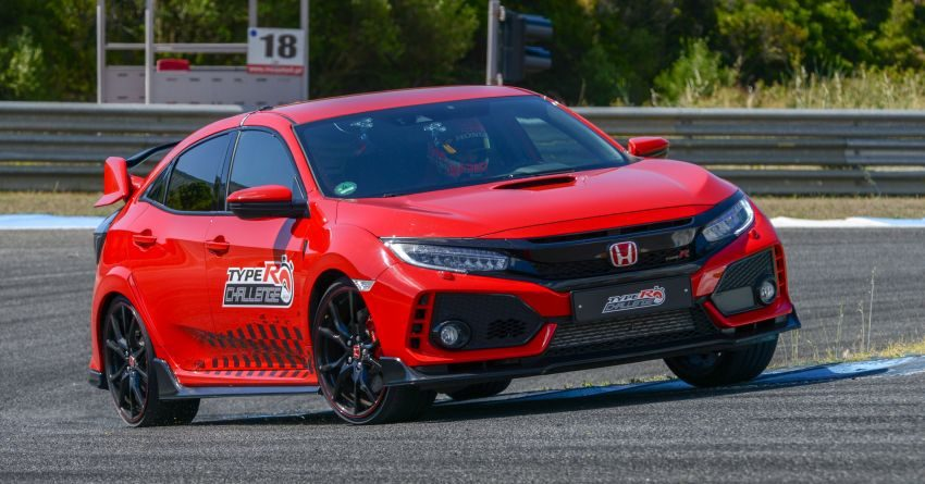 Honda Civic Type R Breaks FWD Record at Estoril 9
