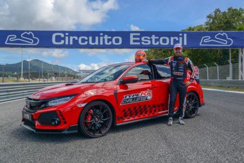Honda Civic Type R Breaks FWD Record at Estoril 3