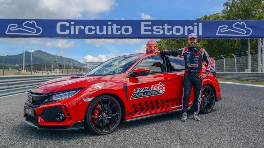 Honda Civic Type R Breaks FWD Record at Estoril 6