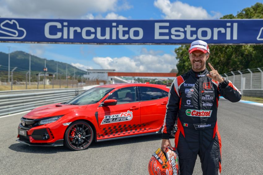 Honda Civic Type R Breaks FWD Record at Estoril 9