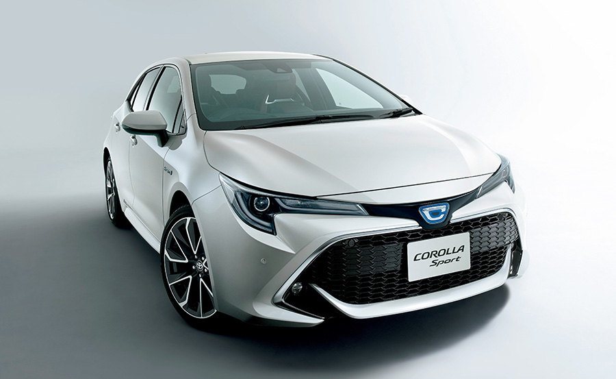 All New Toyota Corolla Sport Launched in Japan 1