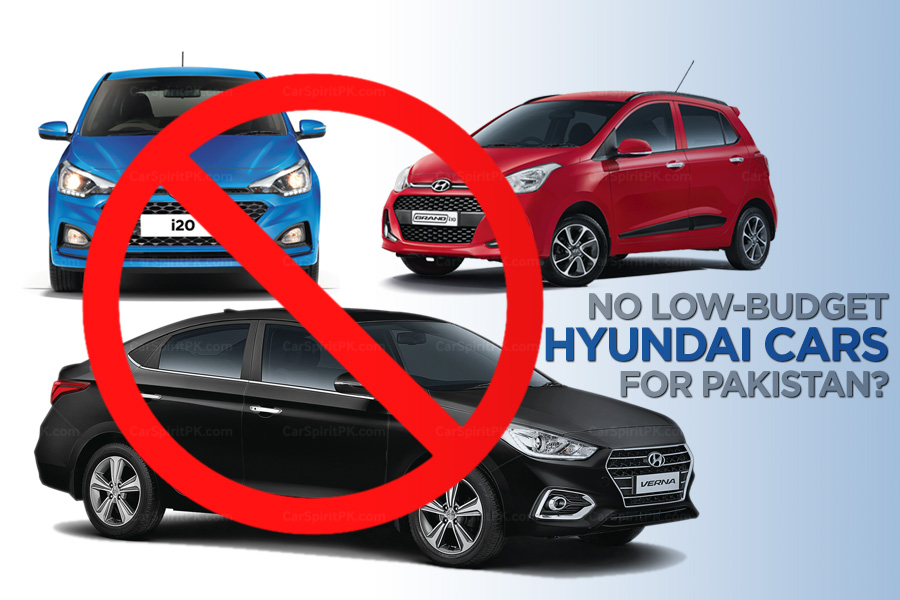 No Low-Budget Hyundai Cars for Pakistan? 5