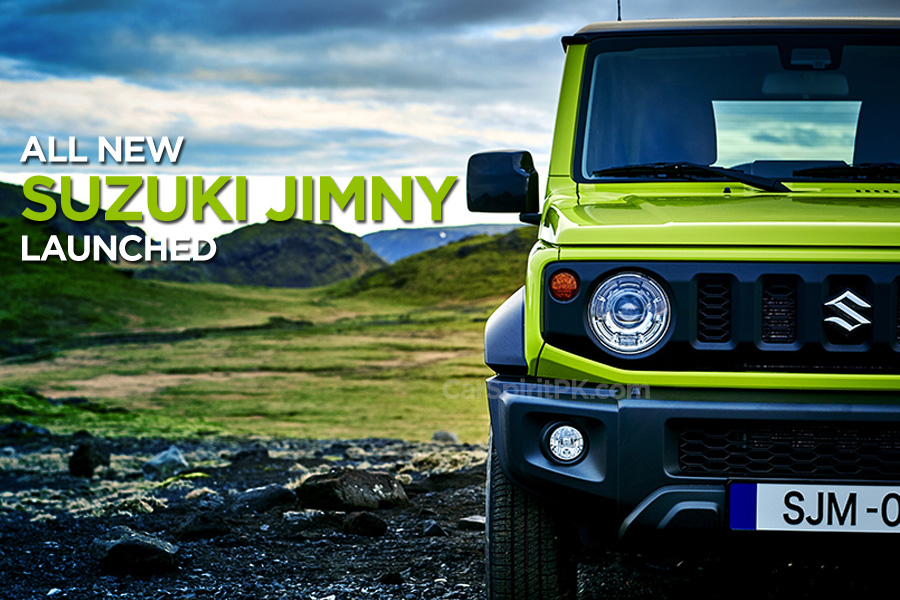 All New Suzuki Jimny and Jimny Sierra Launched in Japan 1
