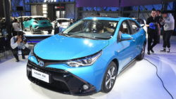 Toyota to Introduce Corolla plug-in Hybrid and 10 new EVs in China by 2020 24