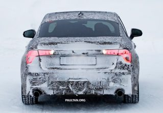 First Official Spyshots of Geely's Lynk & Co 03 Sedan 7