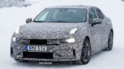 First Official Spyshots of Geely's Lynk & Co 03 Sedan 6