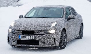 First Official Spyshots of Geely's Lynk & Co 03 Sedan 4