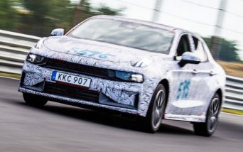 First Official Spyshots of Geely's Lynk & Co 03 Sedan 2