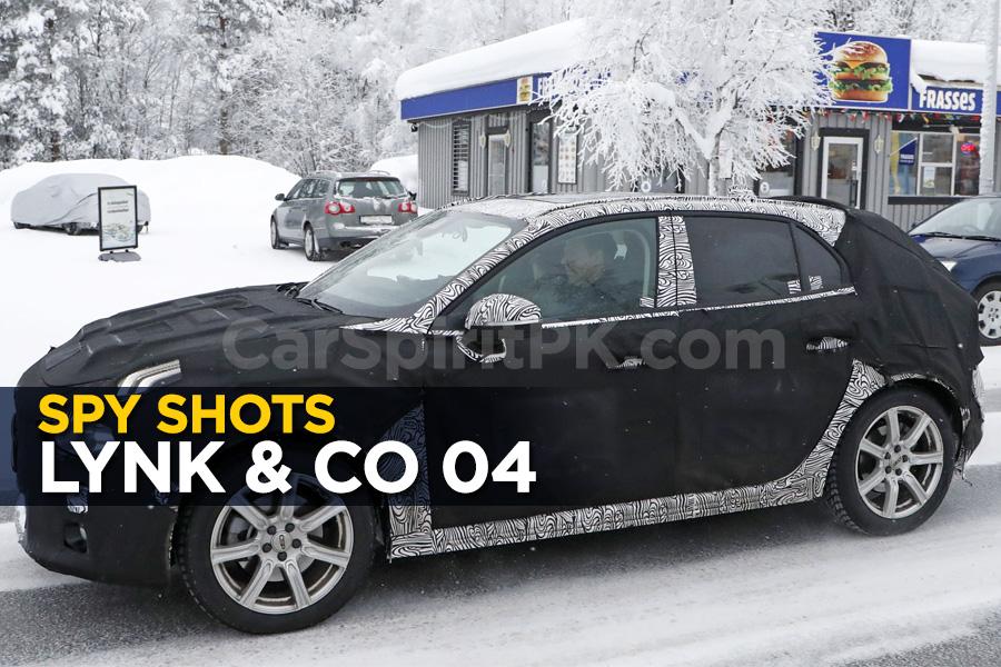 Spy Shots: Lynk & Co 04 Hatchback 1