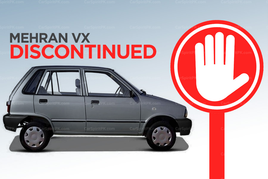 Pak Suzuki Officially Discontinues the Mehran VX 1