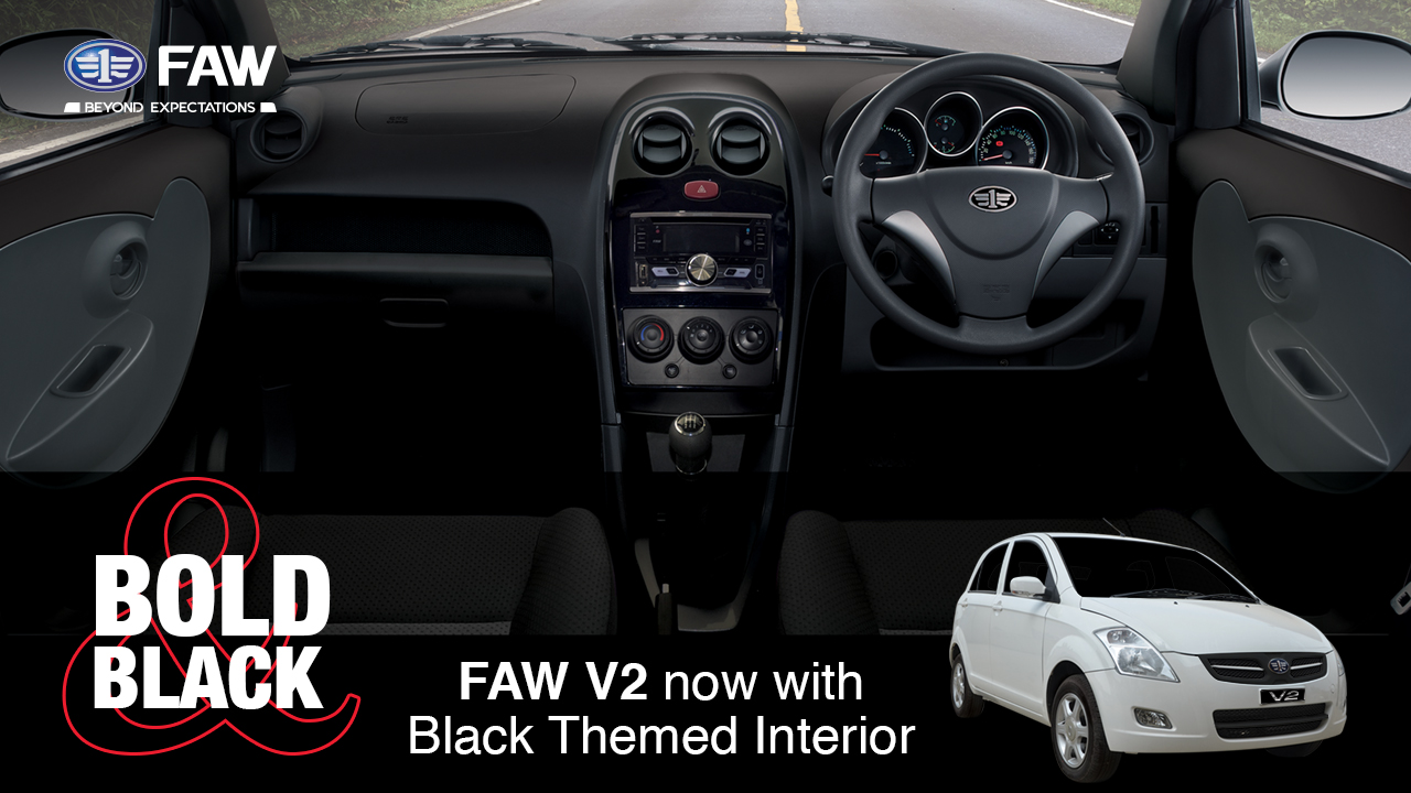 FAW V2- The Most Equipped Local Assembled Hatchback in Pakistan 8