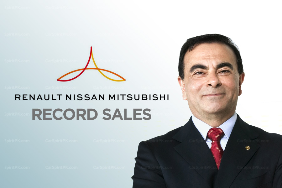 Renault-Nissan-Mitsubishi Alliance Achieves Record Sales in H1 2018 1
