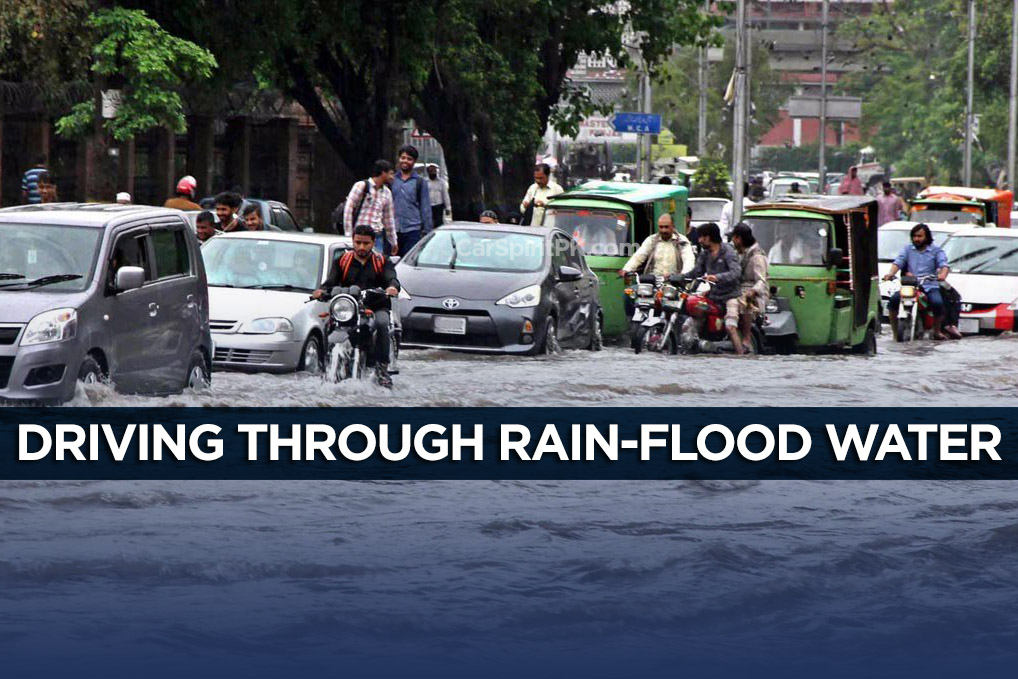Tips: Driving Through Rain-Flood Water 1