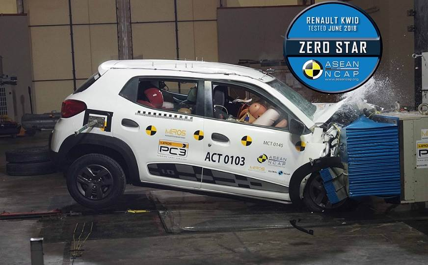 Renault Kwid Got Zero Stars in ASEAN NCAP Crash Test 29