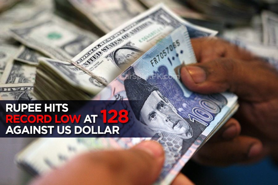 Rupee Hits Record Low at 128 Against US Dollar 1