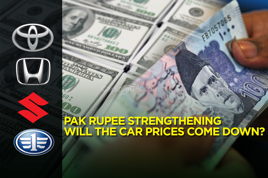 Pak Rupee Strengthening- Will Car Prices Come Down? 1