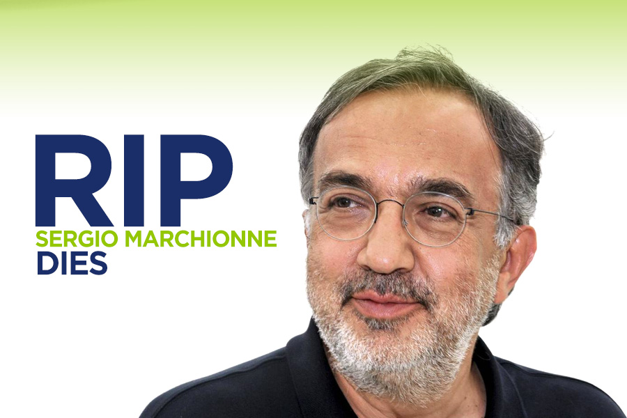 Sergio Marchionne, the CEO Who Saved Fiat and Chrysler Dies 23