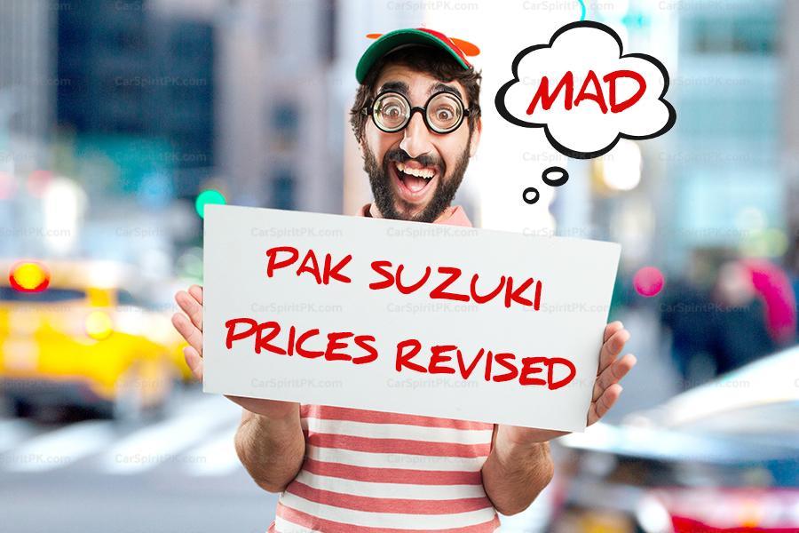 Pak Suzuki Increases Car Prices Once Again 1